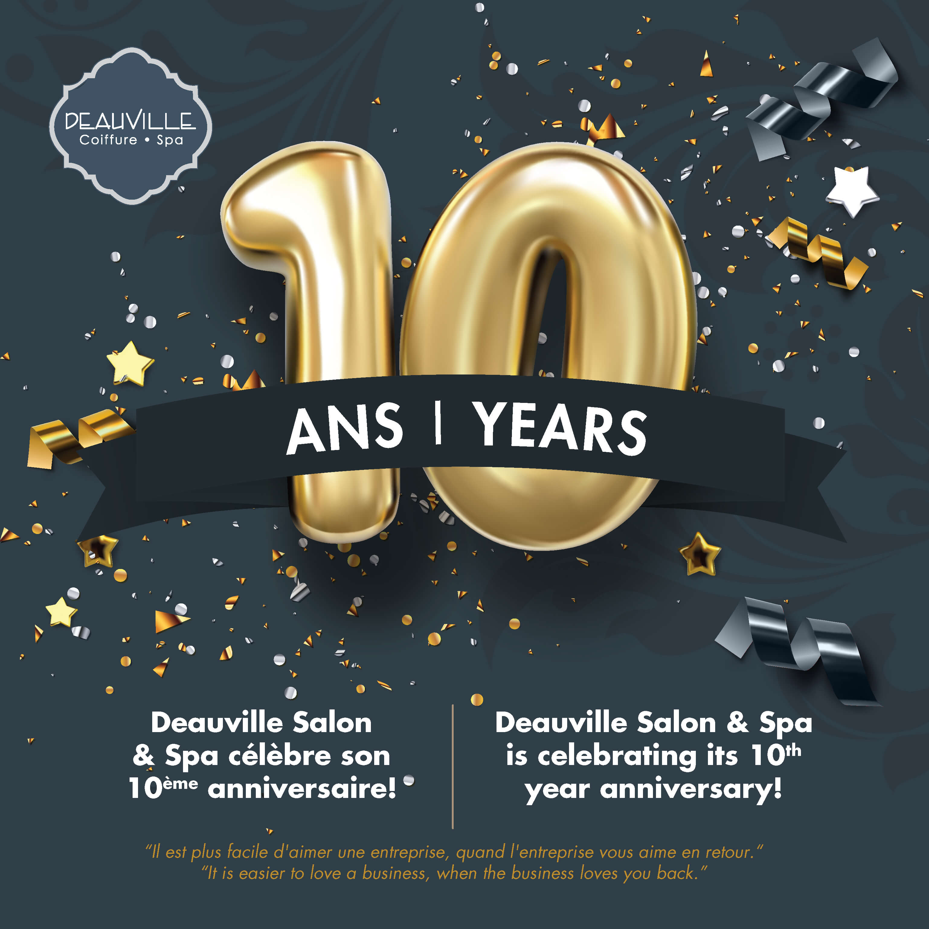 10th Anniversary Beauty Celebration At Montreal S Salon