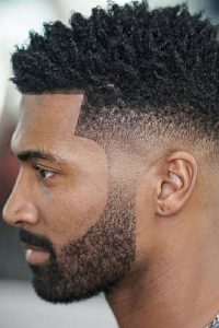 Current trends in men's haircuts