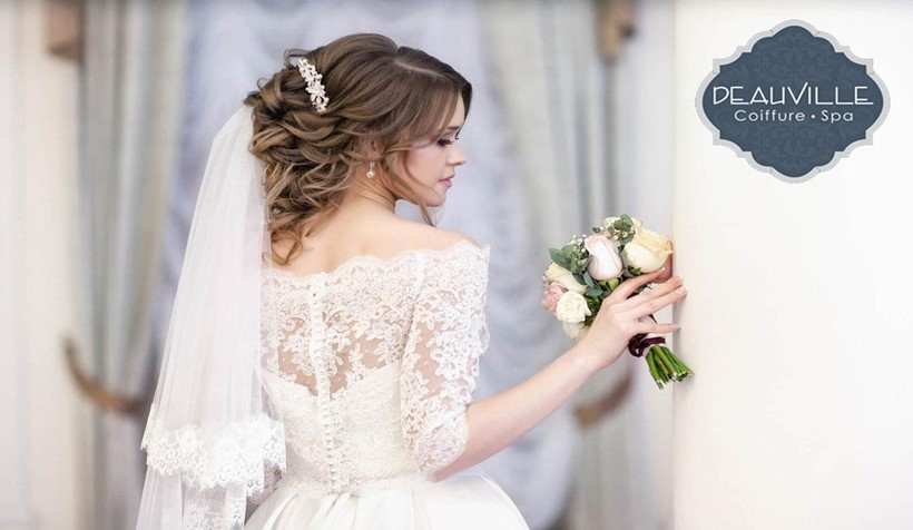 How to choose a bridal hairstyle step by step