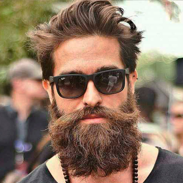 Curly beards
